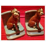 Boxer Dog Book Ends
