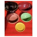 Crock Stoneware Bowl, Vintage Fiesta