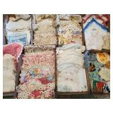 Vintage Doilies, Embroidery, Table Runners & Cloths, Hand Made