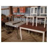 Formica Chrome Table,