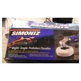 "Simoniz 7"" Right Angel Polisher- Sander Unused"