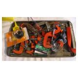 Tray of Clamps -oil filter & wrench
