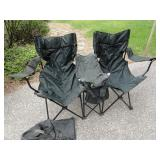 Folding Chair Double Seater