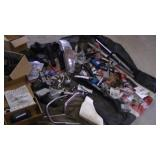 Assortment of Motorcycle Parts