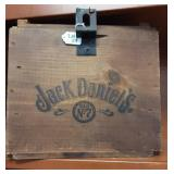 Vintage Jack Daniels Wooden Whiskey Box