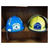 2 Balto. Co. vintage Fire Helmets