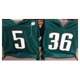 Set of 2 Eagles Football Jerseys