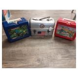 Lot of 3 Vintage Lunch Boxes, 1 metal