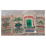 Sold as a Lot, 4 Marijuana Bags