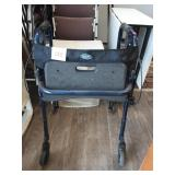 Invacare Blue Wheeled Walker