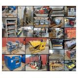 Online Auction   Automotive, Equipment, Tools, Racking & More