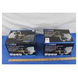 2 - 100w LED  Solar motion Sensored Lights