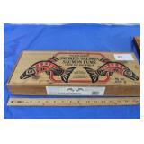 2 Vintage Wood Boxes