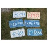 Sets of Licence Plates