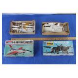 2  Vintage Airplane Models