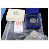 1871 - 1971 B.C Silver Dollar & 81 Dollar Coin