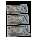 1973 One Dollar Bills