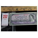 1954 Ten Dollar Bill