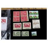 1940s Canadian Stamp Collection