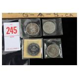 4 - Canadian Commemorative Coins