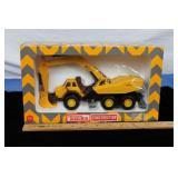 Tonka Rubber Tire Excavator Toy