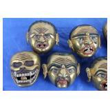 Tibetan Brass Sculptures