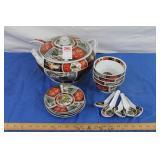 Asian  Porcelain Soup Tureen Set