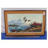 Original Oil on Board Painting