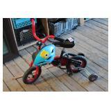 Childs Bike & Helmut