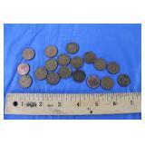 40s - 60s Pennies