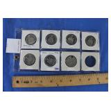7  Canadian 50 Cent Coins