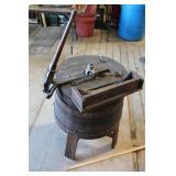 Primitive Wooden Washing Machine