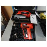 Tools/Hand held items - Power Tools  (LOT) BLACK &