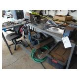 Shop / Warehouse - Workbenches / Tables  (LOT) VIS