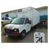 Medium Duty Trucks - Box Trucks - Reefer 2011 GMC