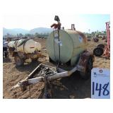 Outdoors  400 GAL. DIESEL TANK W/ FUEL PUMP  148