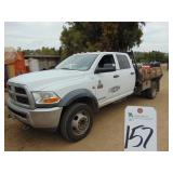 Medium Duty Trucks - Flatbed Trucks 2012 RAM 5500