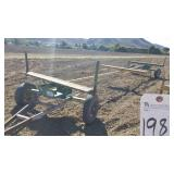 "Outdoors  95""W X 360"" LONG IRRIGATION PIPE TRAILER"