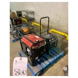 Outdoors  (LOT) (4) GENERATORS . 80U