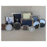 Assorted Silver Frames (qty. 11)