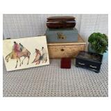 Jewelry Boxes (qty. 6)