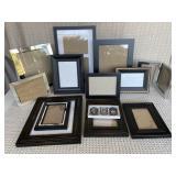 Assorted Black & Silver Frames