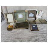 Shadow Box, Frames, Antique Talc Tin