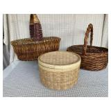 Baskets (qty. 3)