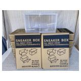 Clear Sneaker Boxes (qty. 11)