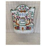 Antique Staffordshire Candle Holder