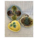 Majolica Decorative Pieces