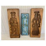 Antique Decorative Wood Molds