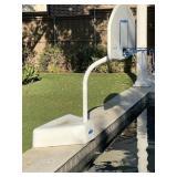 Poolside Basketball Goal