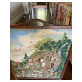 """Antique Free Standing Needlepoint (23"""" x 31"""")"""